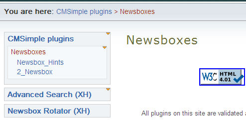Newsbox creation